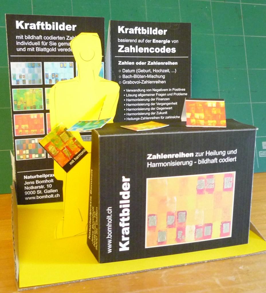 Bomholt Kraftbilder-Stand-Modell Gesundheitsmesse 2015