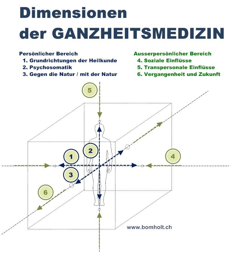 Dimensionen der Ganzheitsmedizin für Web